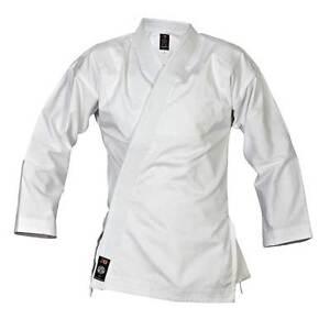 Element Jacke weiß Slim Cut von Ju Sports. Karate Judo MMA, BJJ, SV, TKD usw.