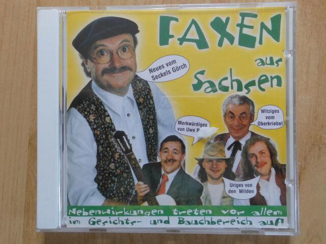 FAXEN AUS SACHSEN CD: DR SECKELS GÖRCH/DIE WILDEN/UWE RATH/DER OBERKRIEBEL
