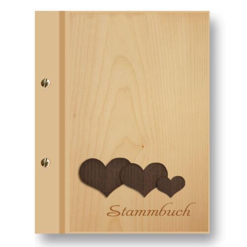 Stammbuch Arbol A5 ahorn Familienstammbuch Stammbuch der Familie Dokumente Holz