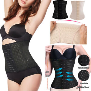 43df70d993 Image is loading Ladies-Waist-Trainer-Cincher-Body-Shapers-Girdle-Corset-