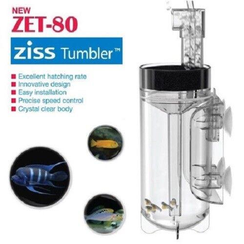 New Ziss Egg Tumbler  For Fish & Shrimp Big Size Aquarium ZET-80
