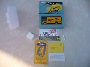 Corgi-Serie-034-Golden-oldies-034-Ref-19302-Bedford-S-Weetabix-jaune-neuf-en-boite