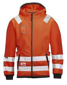 Snickers 8053 High-Vis Micro Fleece Round Neck Class 3 SnickersDirect Orange