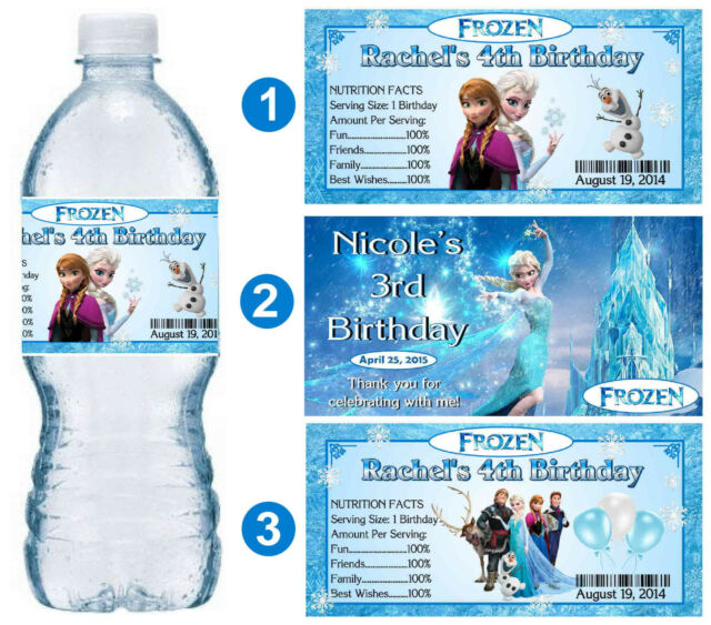 PERSONALISED Video Game Fruit Shoot Label Wrapper Ideal Party Bag Filler