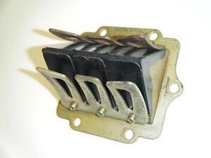 89-Kawasaki-KX125-KX-125-Carter-Carburateur-Admission-Cage-Carbone-Roseau-Valve