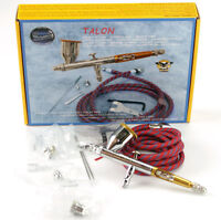 Paasche Tg-3f Talon Airbrush Set Air Brush Tg3f Dual Action Gravity Feed on sale