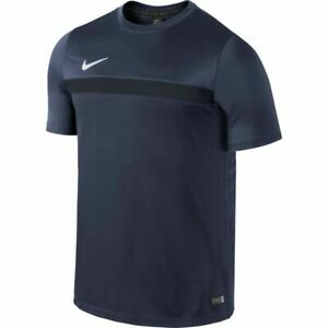 NIKE-Da-Uomo-Calcio-Academy-SS-Trainingstop-1-Blu-651379-412-NUOVO-TAGLIA-XL