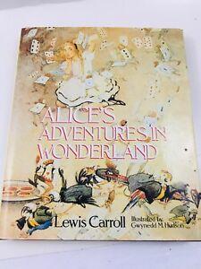 Alice-in-Wonderland-Lewis-Caroll-Centenary-edition-Illustrated-by-Gwynedd-Hudson