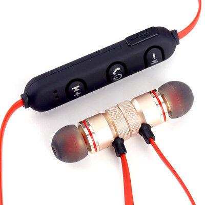Magnet Wireless In-Ear Sports Earphone Headset Headphone For iPhone Samsung