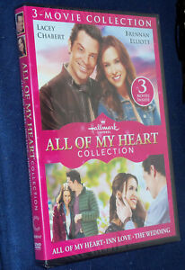 All-Of-My-Heart-Hallmark-3-Movie-Collection-DVD-NEW-SEALED-Lacey-Chebert