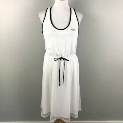 Size XS White Hunter for Target Womens Mesh A-Line Dress