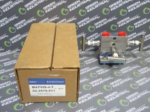 NEW Anderson Greenwood M4TVIS-4-T Differental Pressure Manifold Valve