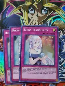 - Super Rare SESL-EN025 1st Edition Rikka Tranquility