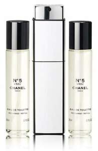 be1556235732 CHANEL N°5 L'EAU EAU DE TOILETTE TWIST AND SPRAY SET*****NIB ...