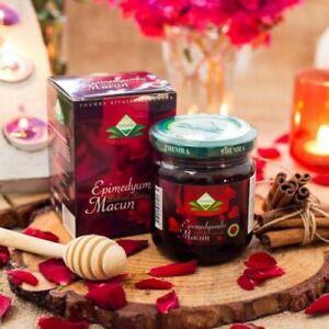 5-BOX-THEMRA-Epimedium-Macun-Ginseng-Krauterpaste-100-Naturprodukt-240-gr