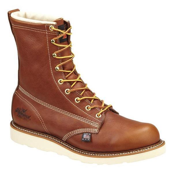 Thorogood 8  American Heritage acedía Con Cordones botas De Trabajo 814-4364 Usa Made