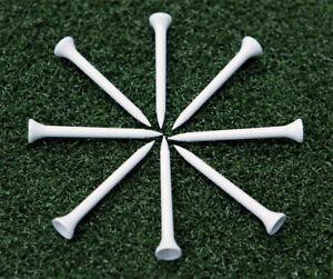 500-pcs-NEW-PLASTIC-GOLF-TEES-2-3-4-034-70mm-WHITE