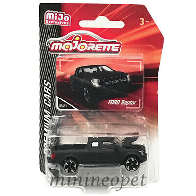 MAJORETTE 3052MJ PREMIUM CARS FORD F-150 RAPTOR PICK UP 1//64-1//72 MATTE BLACK