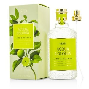 NEW-4711-Acqua-Colonia-Lime-amp-Nutmeg-EDC-Spray-170ml-Perfume