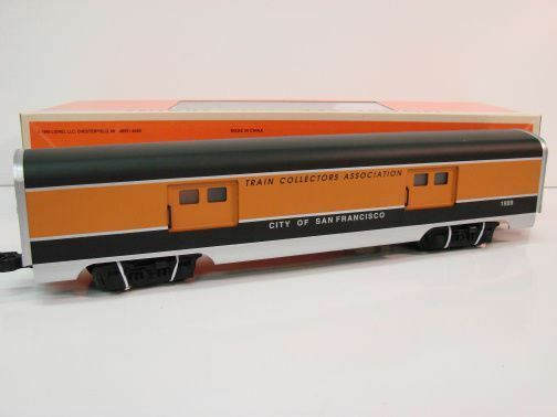 Lionel Trains 6-52155 City Of San Francisco TCA 1999 Baggage Car MIB