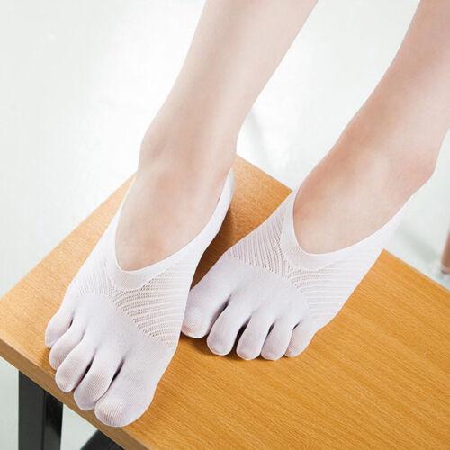 Socks Women Invisible Non Slip Footsie Lace Liner Pair Ankle Low Cut Shoes QK