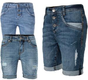 Sublevel da denim Pantaloncini donna Made di Bermuda jeans Fresh F7zzO