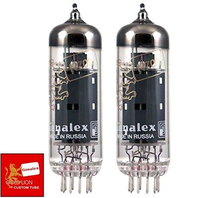 2 New Genalex Reissue Current Matched Pair PX300B 300B GOLD PIN Vacuum Tubes