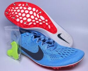 the latest 722e3 10bd6 Nike Zoom Victory 3 Mens Blue Distance Track Spikes Size 10 | 835997 ...