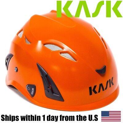 Kask Super Plasma Arborist Rock Tree Climbing Head Protection Helmet Orange