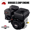 Brand-New-Briggs-amp-Stratton-3-5HP-Horizontal-Petrol-Engine-For-Cylinder-Mower