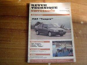 HonnêTeté Revue Technique Carrosserie Rtc Fiat Tempra