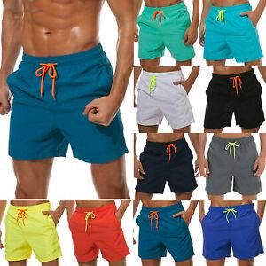 Womens Swimsuit Shorts Board Shorts Side Split Waistband Summer Beach Swimwear Trunks Hot Pants Summer Sport Gym Running Shorts