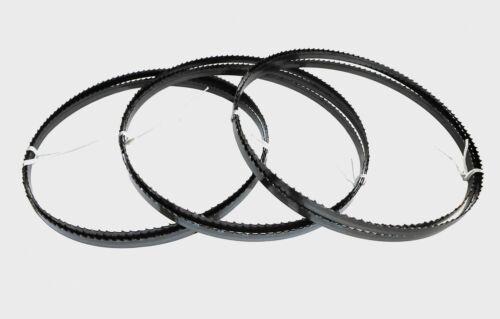 3 x Sägebänder Sägeband 1520 x 8 x 0,65 mm x 6 ZpZ Holz Black+Decker DN330 DN339