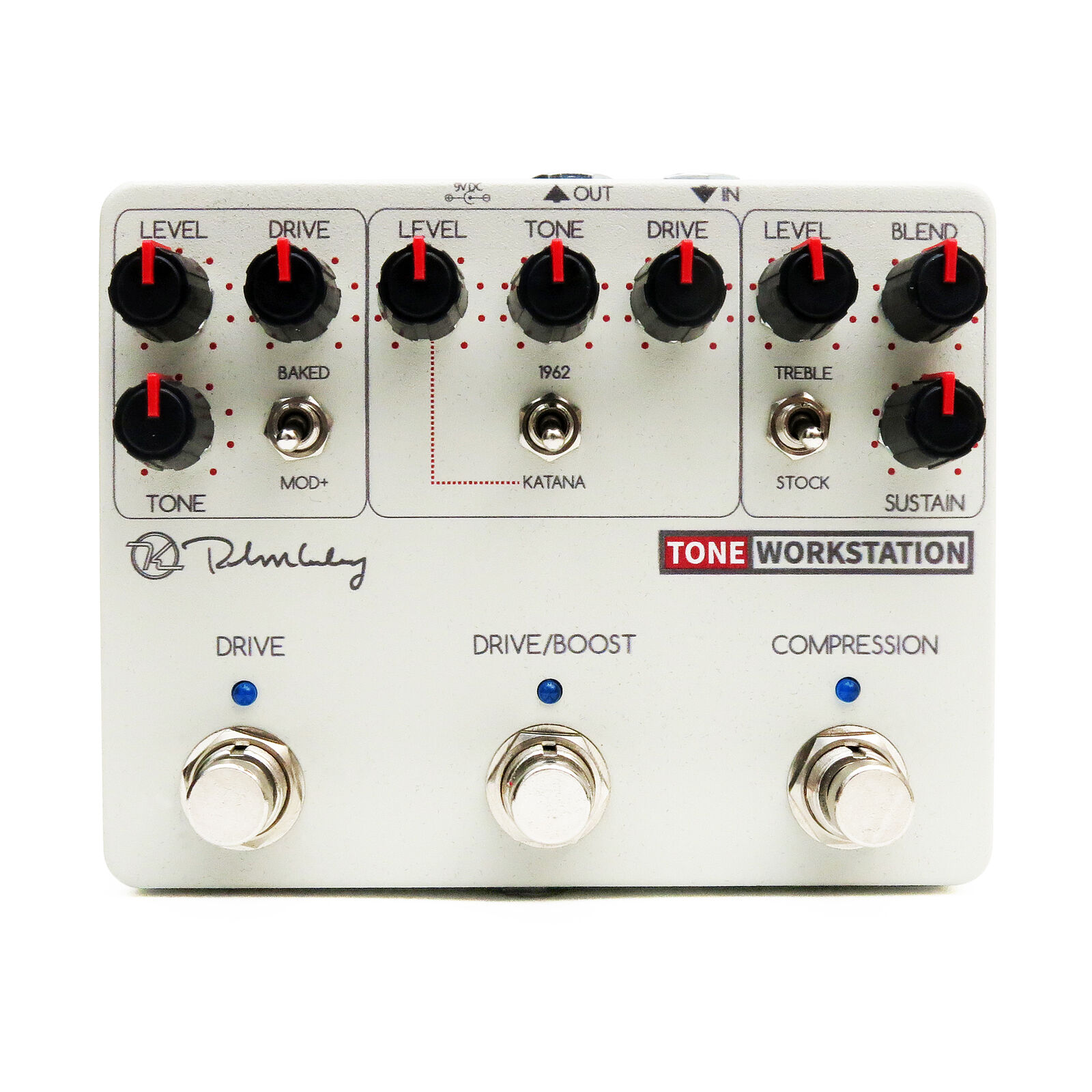 Keeley Tone Workstation Overdrive Boost Compressor New effect pedal  OPEN BOX