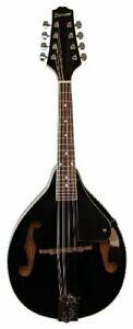 Savannah SA-100-BK A-Model Mandolin Black