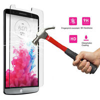 9H+ Premium Tempered Glass Screen Protector Cover Film Guard For LG Cell Phones