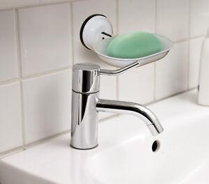 Leisurewize Caravan Motorhome Bathroom Shower Portable Wall Suction Soap Holder
