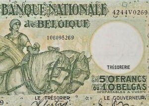 50-FRANCS-1938-lt-lt-gt-gt-1945-Belgique-Belgie-50-FRANK-BELGIUM-P106-F3