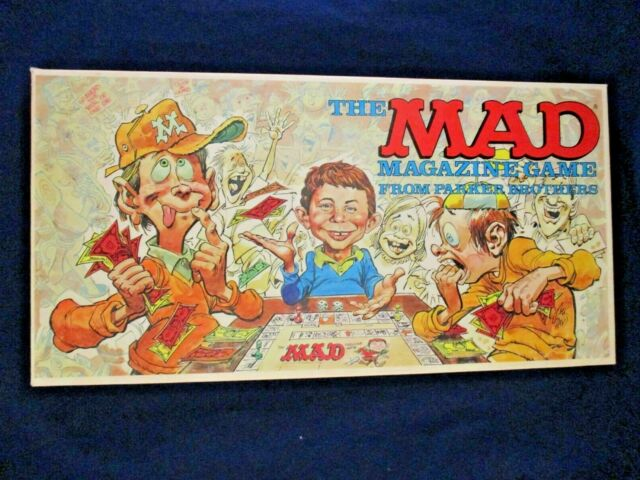 Vintage 1979 The Mad Magazine Board Game by Parker Brothers