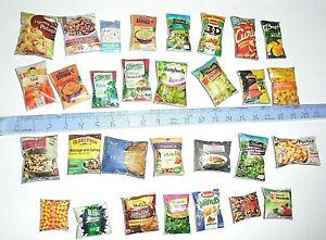 lot-30-Aliments-Miniatures-factices-Maison-Poupee-Vitrine-Doll-House-Food-Barbie