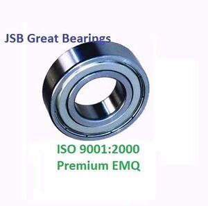 "(10) R3-ZZ Premium R3 ZZ bearing R3 2Z ball bearings 3/16"" x 1/2"" x .1960 ABEC3"