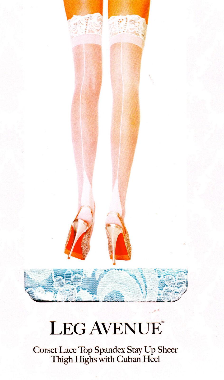 Édition limitée LEG AVENUE corset haut dentelle TALON CUBAIN CONTRASTE