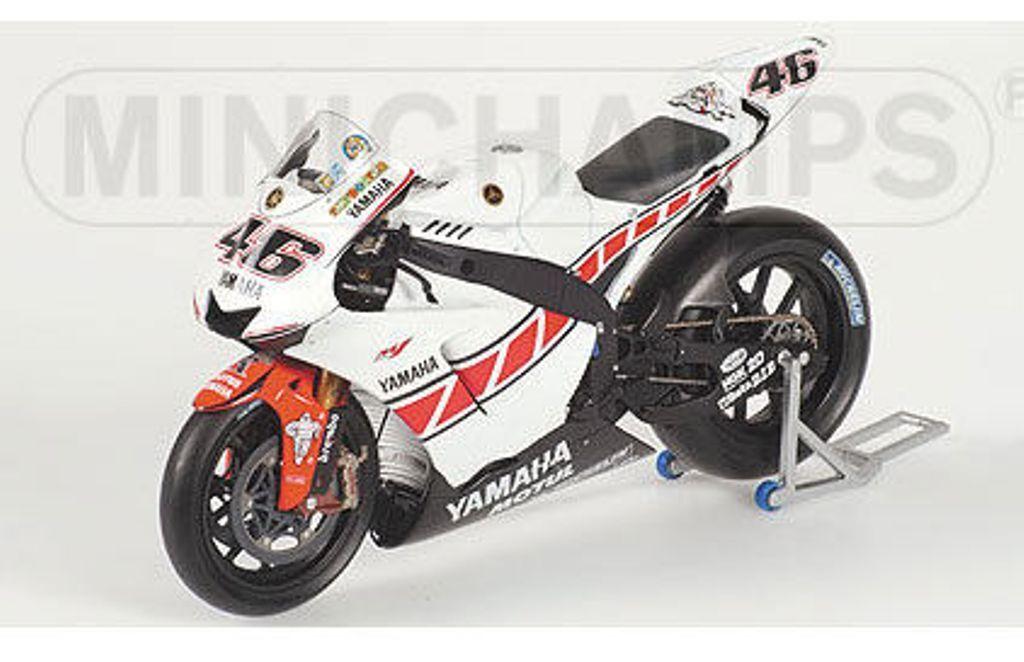 Minichamps 053086 YAMAHA YZR-M1 métalliques Vélo V Rossi MotoGP 2005 Valence 1,12 th