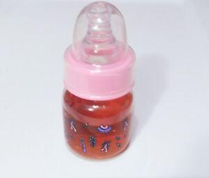 2oz-Sealed-Reborn-Baby-Juice-Bottle-w-NO-HOLE-NIPPLE-Preemie-Size