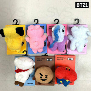 BTS-BT21-Official-Authentic-Goods-Character-Hair-Tie-Lying-Ver-Tracking-Number