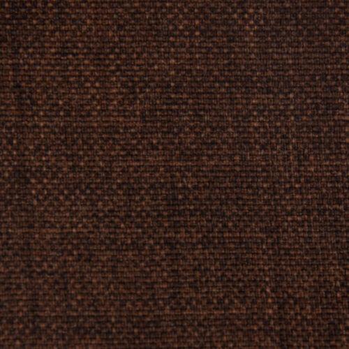 Meubles Tissu Coussin Tissu Habillage Luxury avec tache protection marron foncé chiné