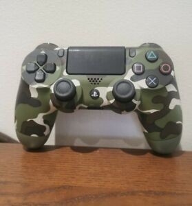 VERDE Mimetico Controller Wireless-UFFICIALE PLAYSTATION 4 PS4 Camouflage