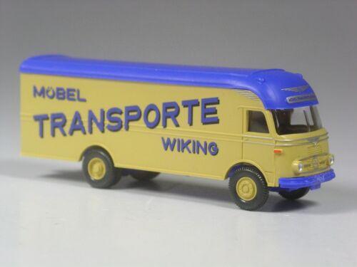 Wiking Mercedes Pullman Möbel Transporte Wiking TOP