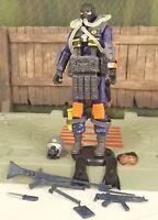 GI JOE 25th Anniversary 2008 blue Cobra Para Viper v1 army builder action figure