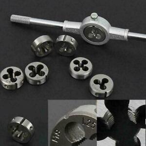 Adjustable-Split-Thread-Molded-Die-2-034-OD-Thread-7-8-14-C9Q2-Mold-Round-HSS-M6Q6